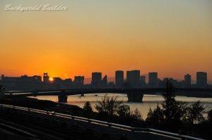 東京の夕焼け